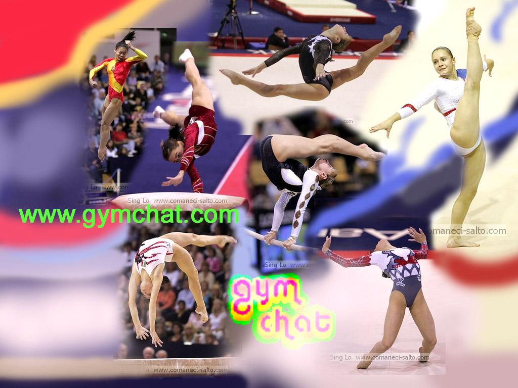 Womens Artistic Gymnastics Collage